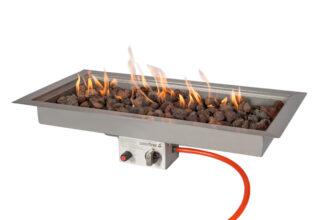 Easyfires Inbouwbrander Rechthoek 78×38 Cm